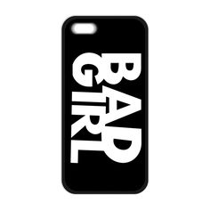 BAD GOOD GIRL Pattern Cover Case for iPhone 4 4S 5 5S 5C SE 6 6S 7 Plus Samsung Galaxy S3 S4 S5 Mini S6 S7 Edge Plus A3 A5 A7