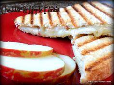 Cheddar & Apple Panini