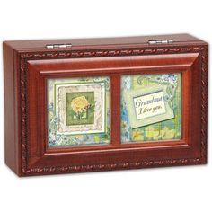 Cottage Garden Petite Grandma Music Box >>> Find out more details…
