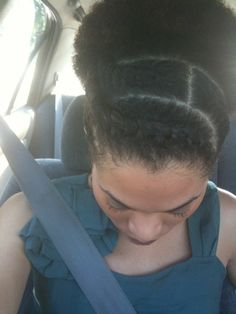 It's Just Hair: A little styling and a Puff