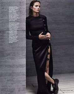 Vivien Solari by Emma Tempest for Vogue Russia October 2014   The Fashionography