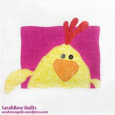 Chicken Animal Whimsy Block of the Month