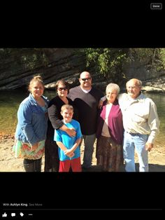 My aunt Doris and Harold and their son Tony and Helenand their children