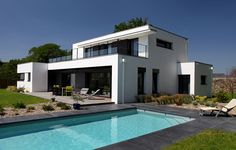 MAISONS INDIVIDUELLES | Archi Concept Home Design Decor, House Design, Home Decor, Villas, My Dream Home, My House, Facade, House Plans, Mansions