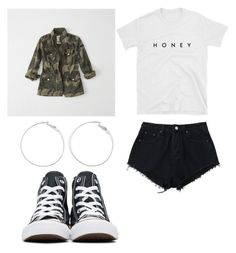 """Sem título #326"" by beamiller1001 on Polyvore featuring moda, Abercrombie & Fitch e Converse"