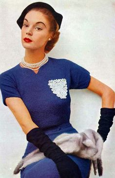 \><\  Jean Patchett <3 1950's
