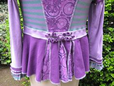 Amethyst Faerie Frock / recycled cotton by CouturierFaerieVerte