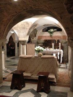 Cripta, basilica San Marco, Venezia