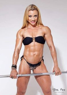 Female muscle : Photo