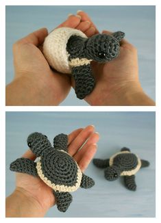 Baby Sea Turtle Collection Crochet Pattern