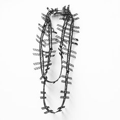 Introducing my favourite new necklace! Ladero necklace fresh from the laser cutter! #newjewellery #lasercut #necklace #lasercutjewelry #contemporaryjewellery by jelkaquintelier