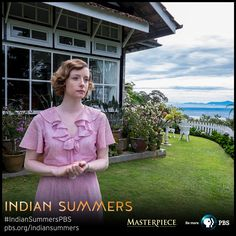 "Sarah Raworth (Fiona Glascott) at her home, ""The Ivy Cottage"" 