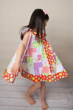 Maui Dress  Summer Dress  Twirl Dress  Girls by KKchildrendesigns, $72.00
