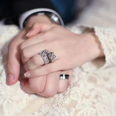 Find images and videos about couple, wedding and jewelry on We Heart It - the app to get lost in what you love. Wedding Couple Poses Photography, Wedding Poses, Wedding Photoshoot, Wedding Couples, Cute Muslim Couples, Romantic Couples, Cute Couples, Romantic Love Couple, Couple Hands