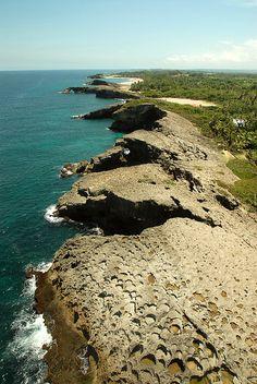 Caribbean sea coast near Arecibo, Puerto Rico