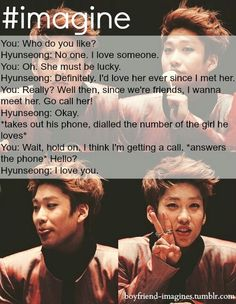 Hyunseong imagine    kpop scenarios