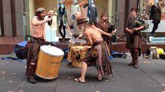 Awesome Scottish street music - Clanadonia - SCOTLAND