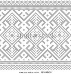 The Easter Egg With An Ukrainian Folk Pattern Ornament. Isolated Vector Realistic Yellow Egg. - 181181045 : Shutterstock