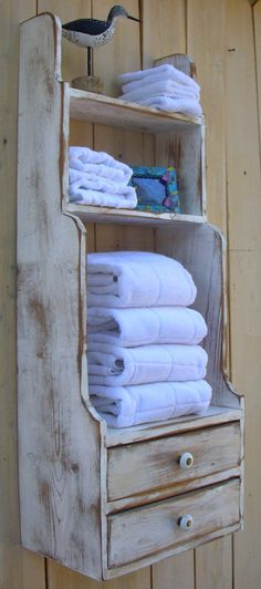 Great idea for a bathroom with little cabinet space!!!!