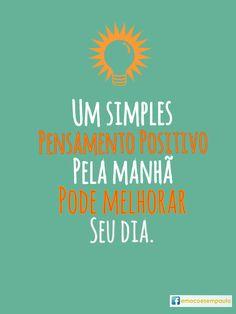 #pensamentopositivo #dia #manhã #psicologia