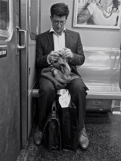 Commuter Knitter