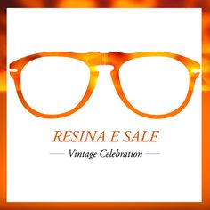 The union of resyn and crystal brightens our authentic acetate with Resina e Sale frames :: #VintageCelebration