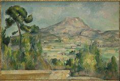 La Montagne Sainte-Victoire de Paul Cézanne © RMN-Grand Palais (musée d'Orsay) / Hervé Lewandowski