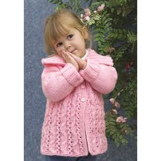 Free Winding Cable Cardigan Knit Pattern