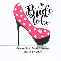 24 pcs Personalized Thank you tags - Bride to Be Heel Wedding Thank you Tag- Bridal Shower Tag Favors- Personalized tags- Wedding Favor Tags