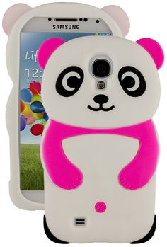 Fall in love with this Samsung Galaxy IV Cute Hot Pink/Rose Panda Bear Soft Silicone Gel Skin Case Cover. It is made from high quality material for durability and to provide protection from possible harm against scratches and dirt. Cute Phone Cases, Iphone Cases, Samsung Galaxy S4 Cases, Galaxy Phone, Hot Pink Roses, Cute Rose, Mobile Covers, Silicone Gel, Skin Case