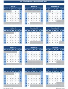 US Federal Fiscal Calendar is a ready-to-use calendar template with 3 color variants. It is available in images, printable pdf, and excel formats 100 Years Calendar, Holiday Calendar, Yearly Calendar, Calendar 2020, Excel Calendar Template, Australia Holidays, Different Holidays, Federal