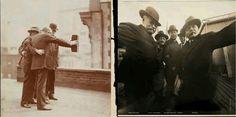 1920年, 史 上 第 一 個 自 拍。