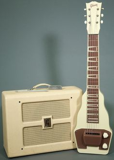 Gibson lap steel and matching amp. I don't have the amp but I still have the steel.