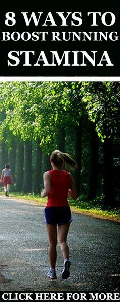 Whether you are a beginner or an elite runner, improving running stamina is key. Here are 8 Ways to Boost Your Running Stamina & Endurance. #Running #Endurance #Stamina #Workout