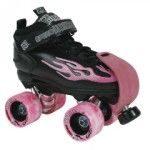 Derby Skates - Roller derby is a worldwide sport that many people know about, but may not fully understand. While I won't go into detail about the particulars of the sport, just know that roller derby is a contact sport that utilizes strategy and strength to win. Derby skates are designed specifically for use in the sport of roller derby, though they resemble the everyday rollerskate design.    Derby skates feature a low-cut boot design with a lace up closure and Velcro strap to properly…