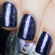 2true Shade No. 02 Swatch // Clear Sparkle