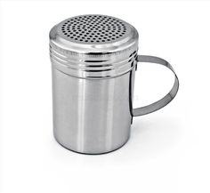 Great flour duster- 2 Stainless Steel Dredge Shakers, 10-Ounce, Set of 2, $6 amazon