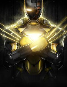 Iron Wolverine - Iron MaSH! on Behance