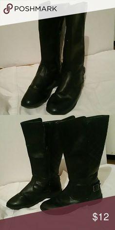 Girls black Sonoma boots Black like new Sonoma brand boots Sonoma Shoes Combat & Moto Boots