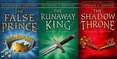 The Ascendance Trilogy by Jennifer Nielsen - I would very much like to own this series, it is my new favorite! (Edit: one down, two to go!)
