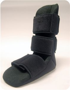 The Baker Planter Fasciitis Night Splint is a soft comfortable nighttime splint that provides relief from plantar fasciitis