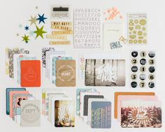 Saturday Review: Studio Calico's Project Life Kit - The Pocket Source Project Life Kit GIVEAWAY!