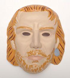 Kevin Costner Waterworld Plastic Vintage Collegeville Ben Cooper Halloween Mask | eBay