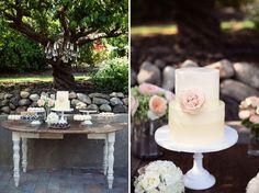Parisian Countryside Wedding in Cali: Logan + John