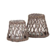 TY Outer Banks Woven Hurricanes - Set of 2