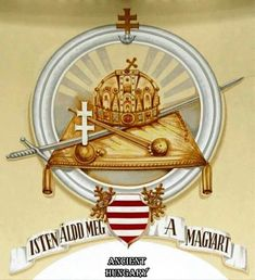 Hungarian Tattoo, Hungary History, Heart Of Europe, Budapest Hungary, My Heritage, Coat Of Arms, Decoupage, Decorative Plates, 1