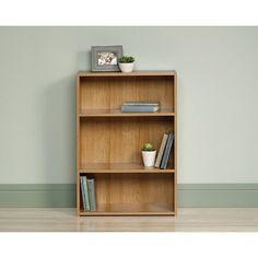 Sauder Beginnings Bookcase - Shelf Bookcase - Ideas of Shelf Bookcase Pine Bookcase, 3 Shelf Bookcase, Living Room Bookcase, Small Bookcase, Sauder Woodworking, Bookcases For Sale, Design Living Room, Bench With Shoe Storage, Design Furniture
