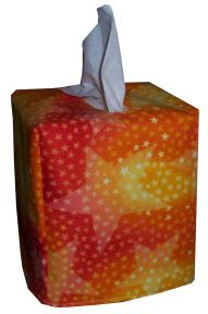 craft and fabric links - tissue box cover