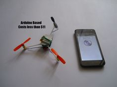 Voice Controlled Arduino Drone                                                                                                                                                      More