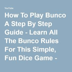 7 dice game rules